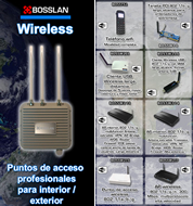 Cat�logo BOSSLAN Wireless